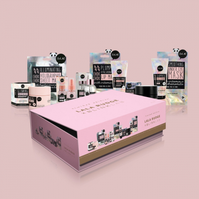 KIT K-BEAUTY GLOW BOX (9 PRODUTOS) LALA RUDGE X BLINK LAB