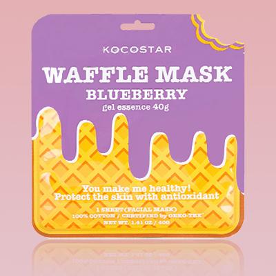 Mascara kocostar waffle de blueberry